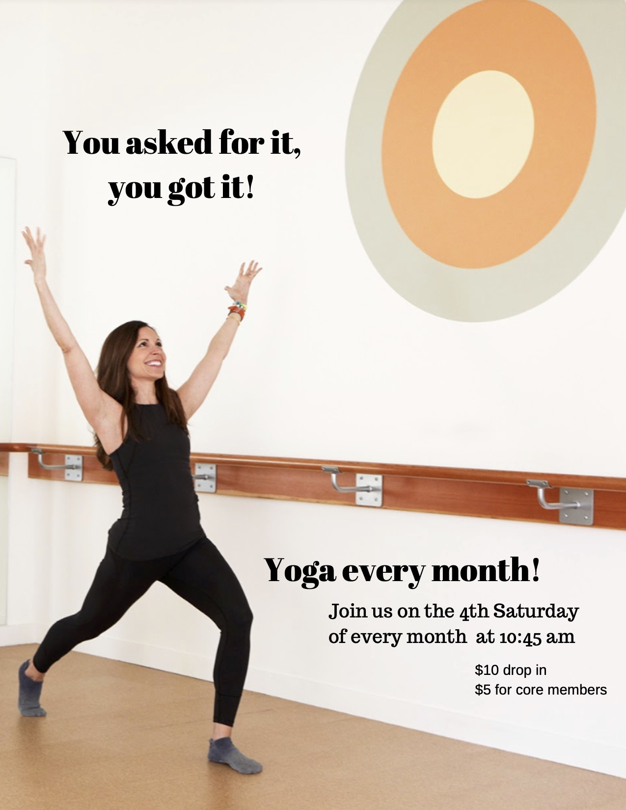 Monthly Yoga
